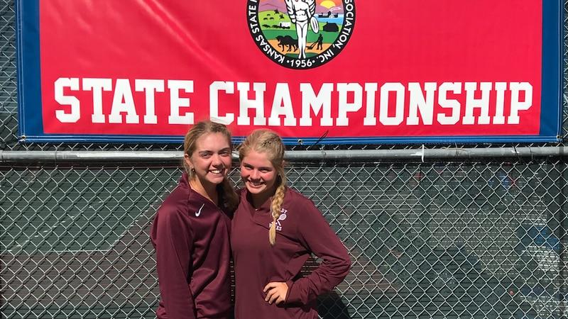 NE KS girls tennis players make history at state