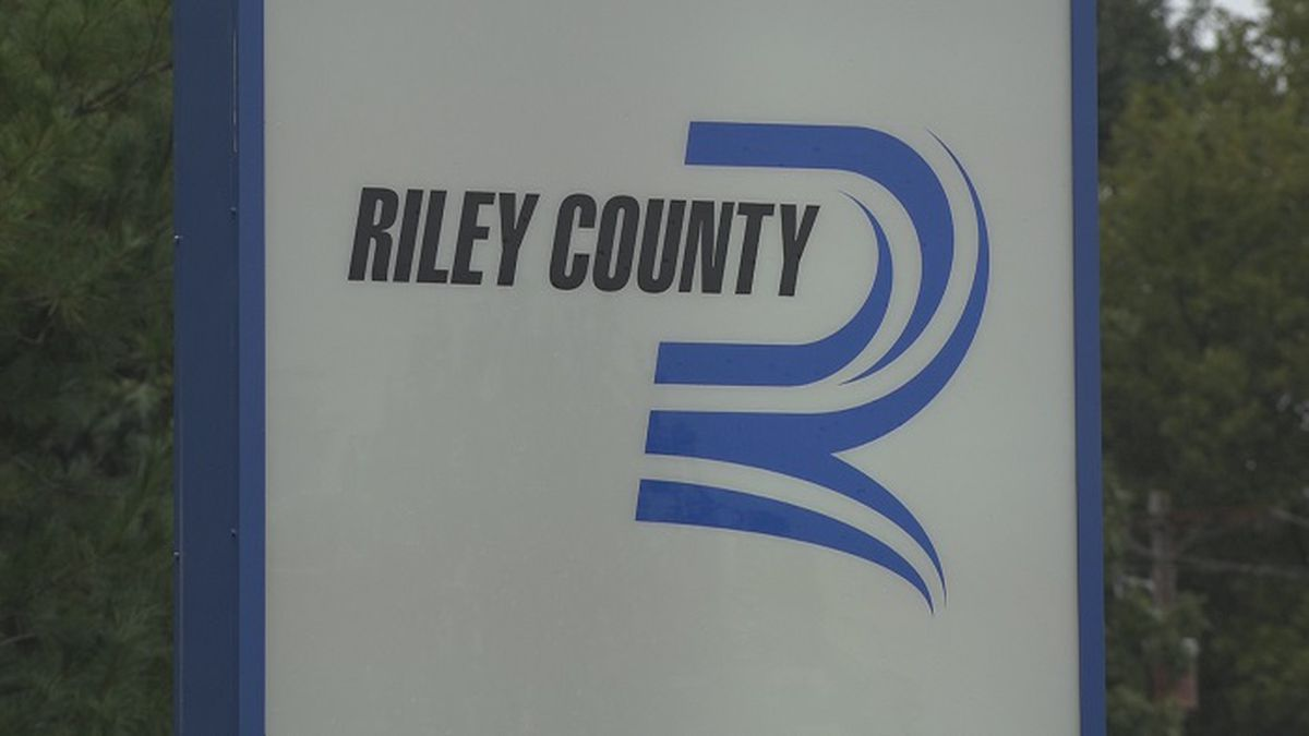 Riley County Health Department sign