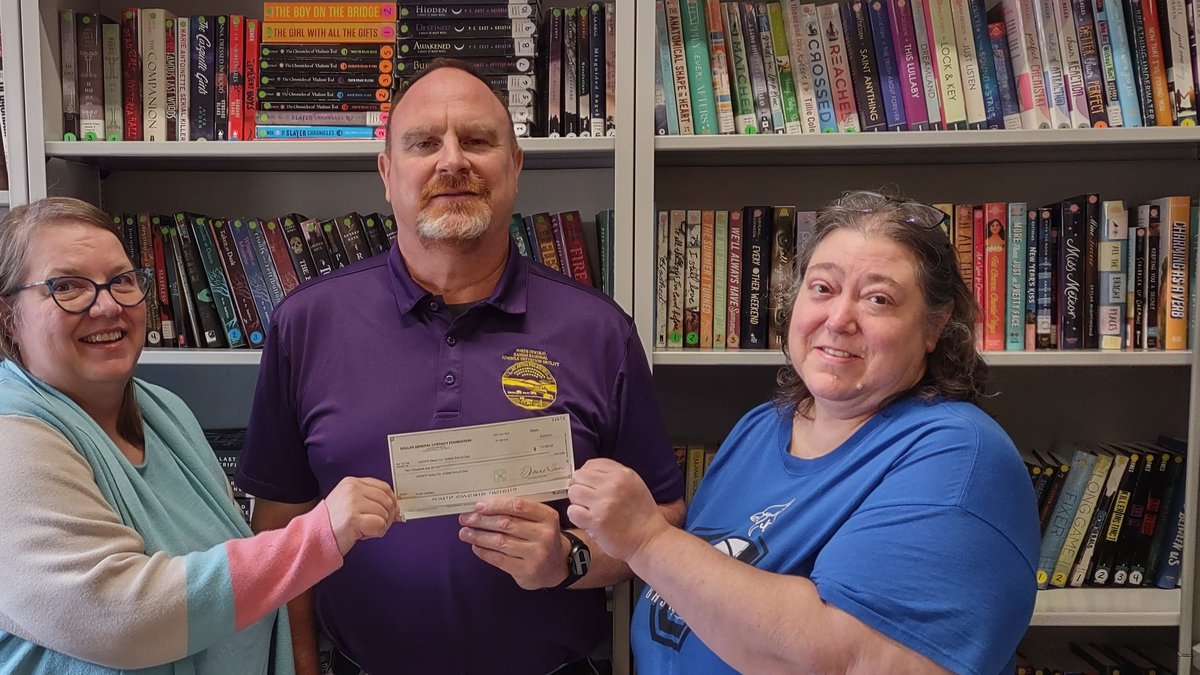 Dollar General has given a $2,000 grant to Geary Co. Schools to improve literacy in a Kansas...