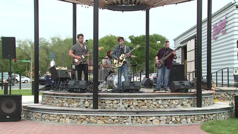 Oceanside Hotels fill the air with music at Redbud Park