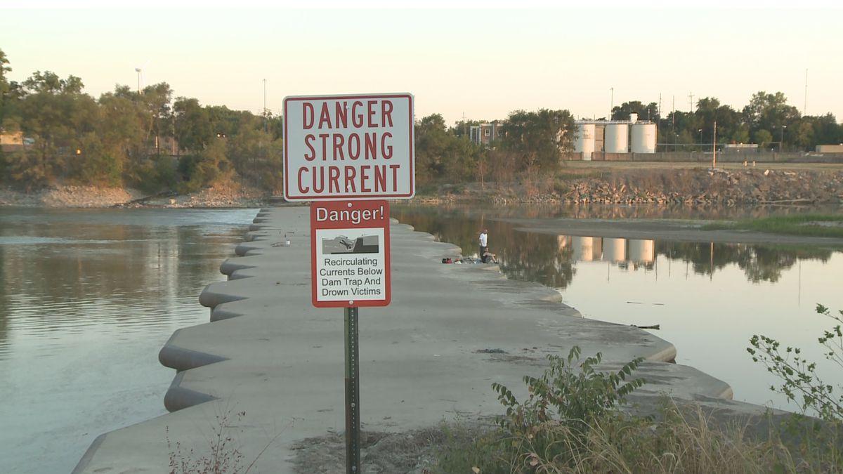 File Photo: Kansas River Weir