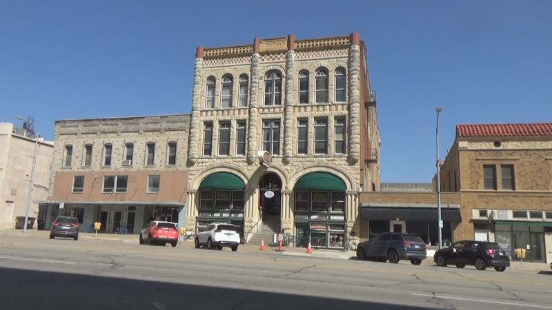 Thacher Building in downtown Topeka.
