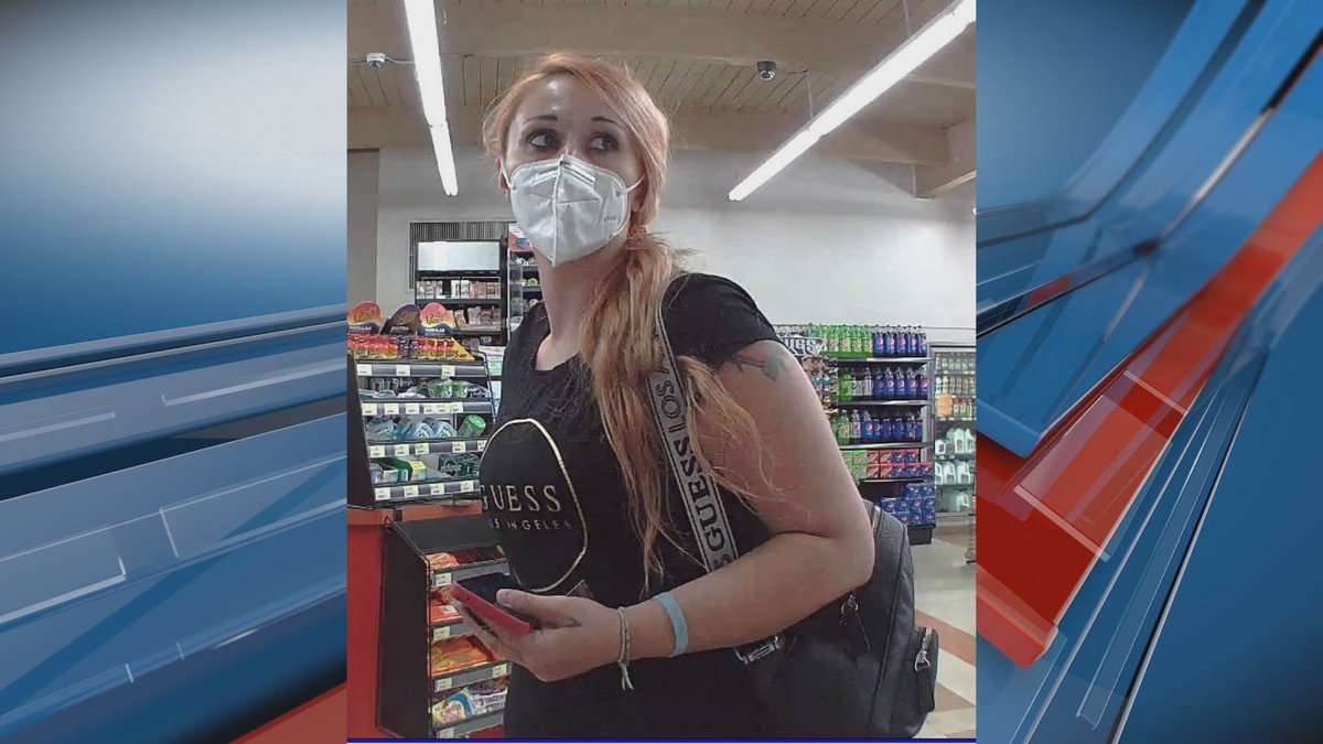 The Topeka Police Department is looking for this woman in connection to thefts in Topeka and...