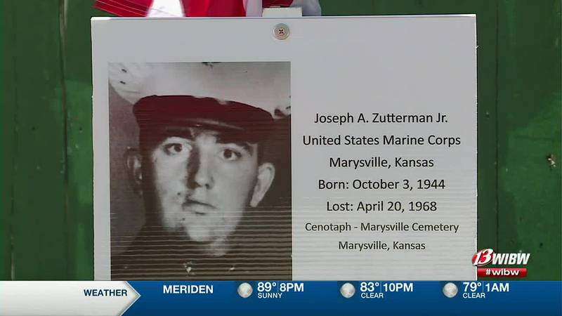 Marysville welcomes a replica of the Vietnam Veterans Memorial