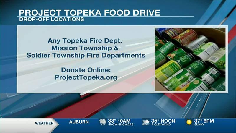 13 NEWS This Morning at 6 AM - Project Topeka Food Drive