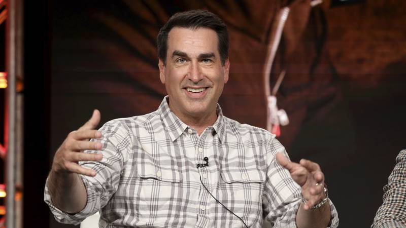 """Rob Riggle speaks at the Discovery Channel's """"Rob Riggle: Global Investigator"""" during the..."""