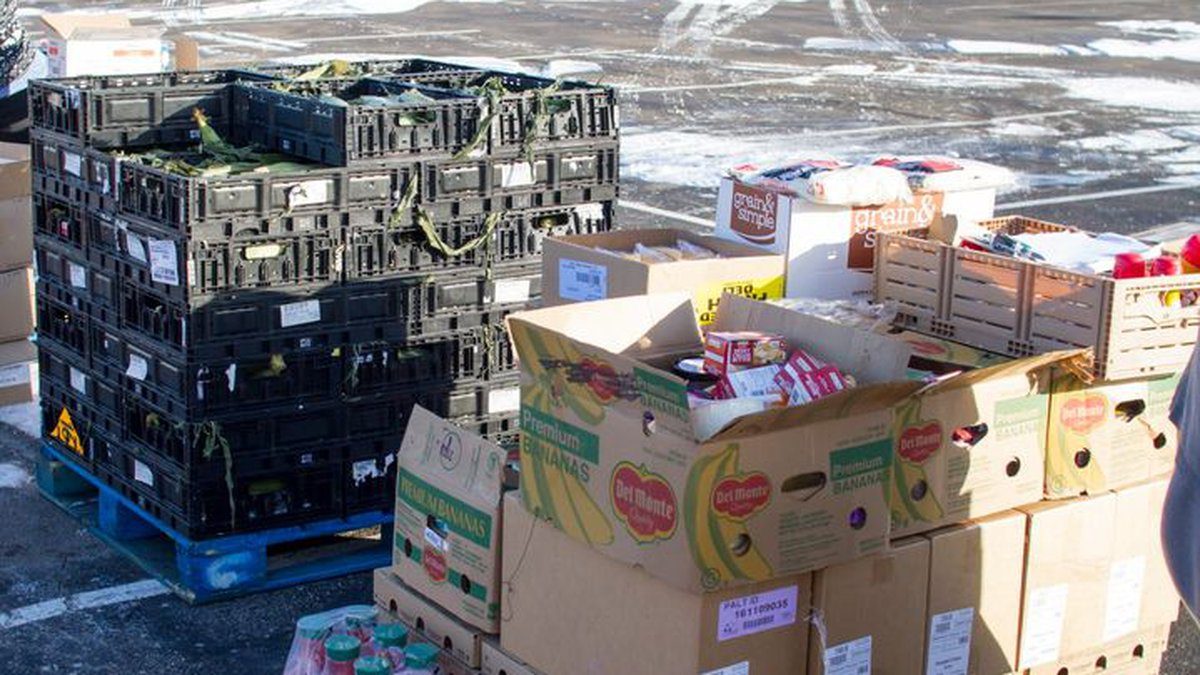 Topeka Harvesters announced Sunday that they will set up their food distribution site on...