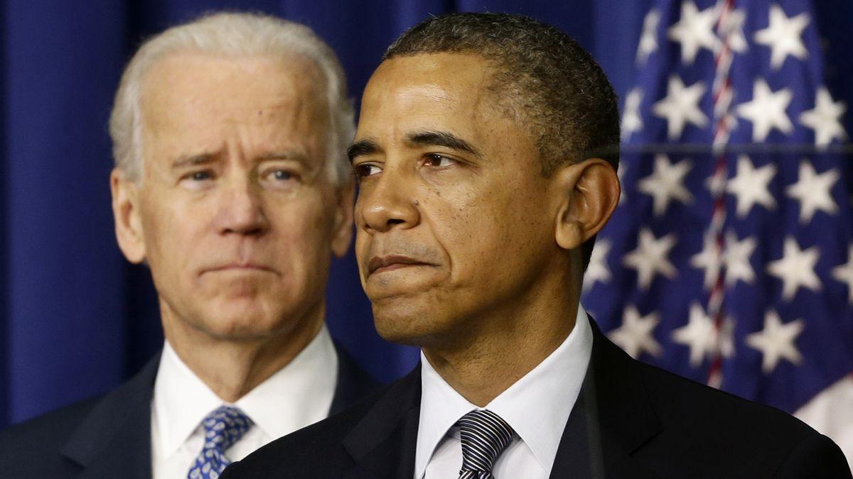 President Barack Obama, accompanied by Vice President  Joe Biden, talks about proposals to reduce gun violence, Wednesday, Jan. 16, 2013.
