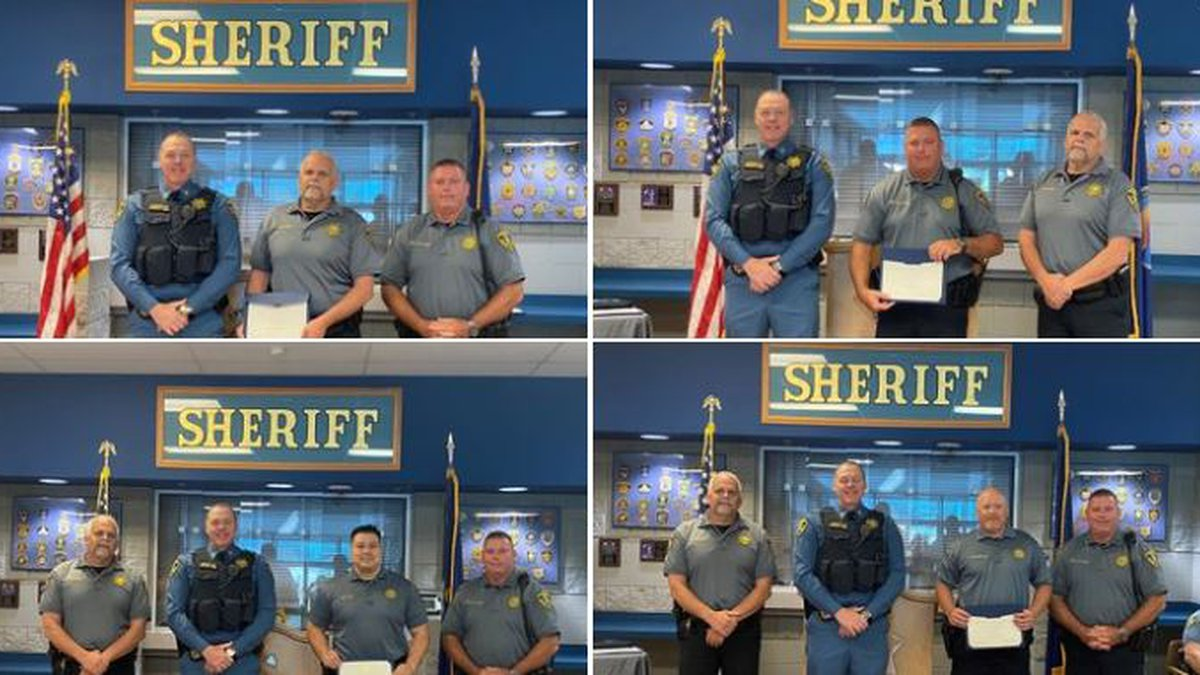 The Shawnee County Sheriff's Office celebrated several staff promotions on Wednesday.