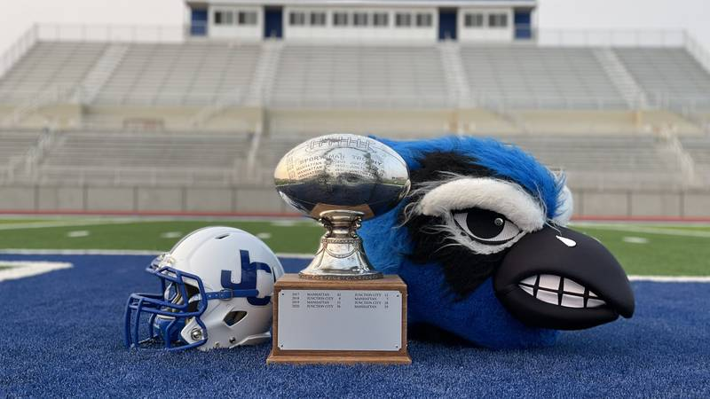 """Junction City and Manhattan vie for the """"Silver Trophy"""""""