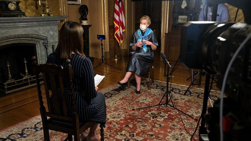 Washington Bureau Chief Jacqueline Policastro discusses school reopening with Dr. Deborah Birx.