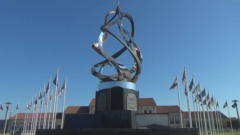 All Veterans Memorial at the Great Overland Station