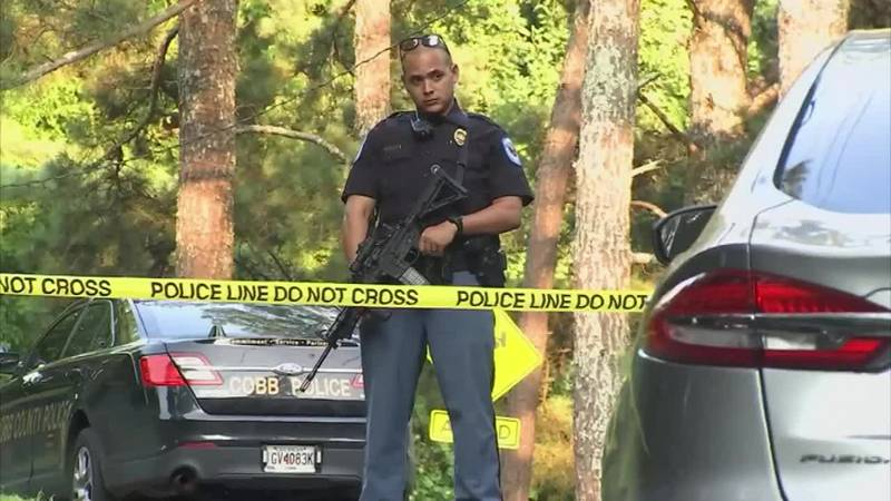 Police search for suspect after golf professional killed at Atlanta-area golf club.