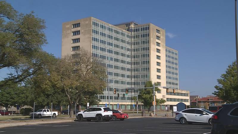 Topeka's Robert. B Docking State Office Building