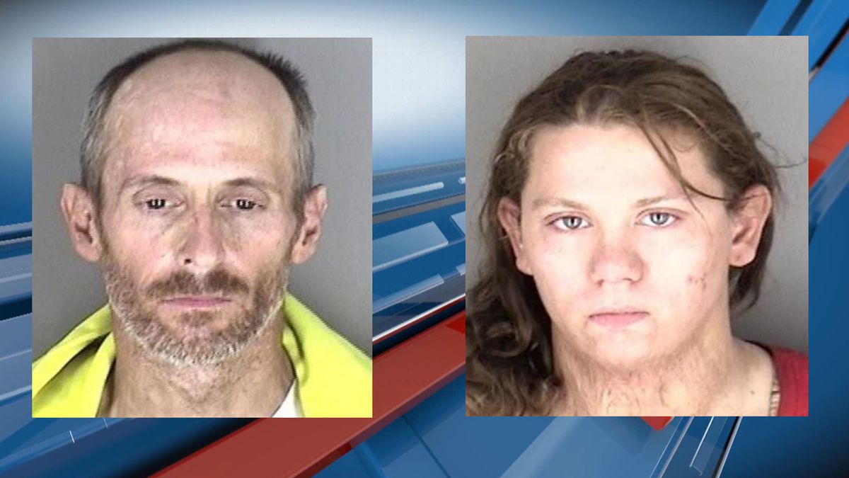 A man and a woman are in custody following the theft of multiple items from a business in the...