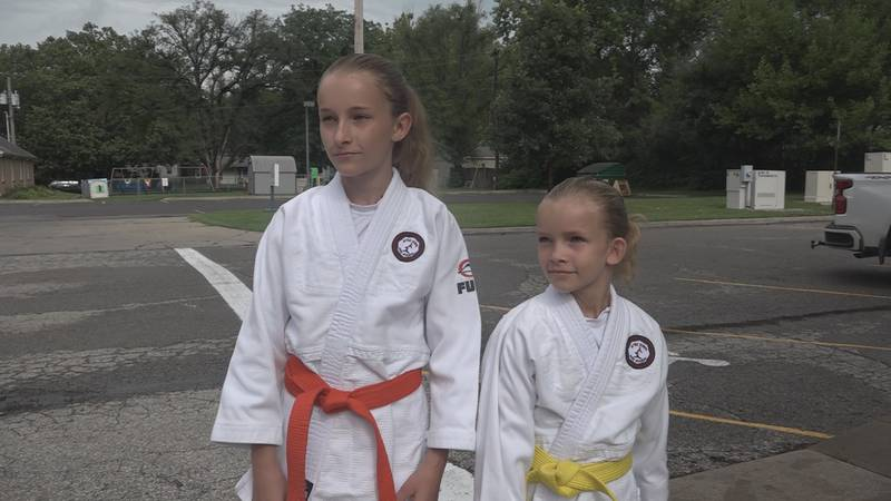 Bria and Paisley McCormick ranked one of the best in the country for their age group in Judo.