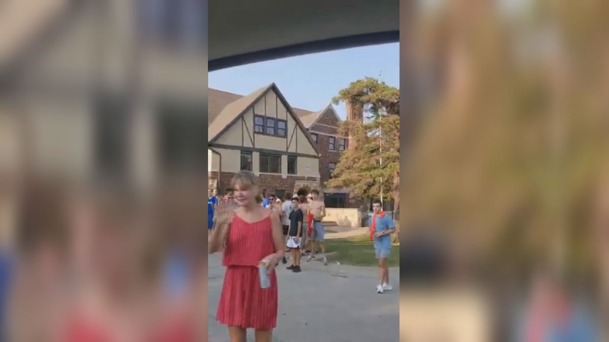 Viral video shows incident outside Kappa Sigma fraternity house