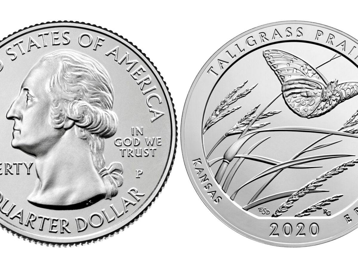 2020 P Tallgrass Prairie National Preserve Quarter BU Direct From Mint KS
