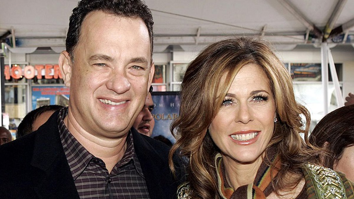 Tom Hanks and Rita Wilson (Associated Press)
