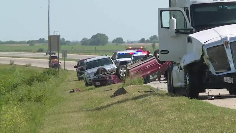 A Carbondale man suffered serious injuries when his car crossed the median of Hwy. 75 near SW...