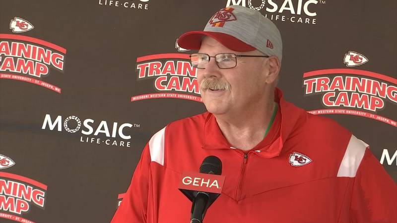 Chiefs back at Missouri Western for first full practice of training camp