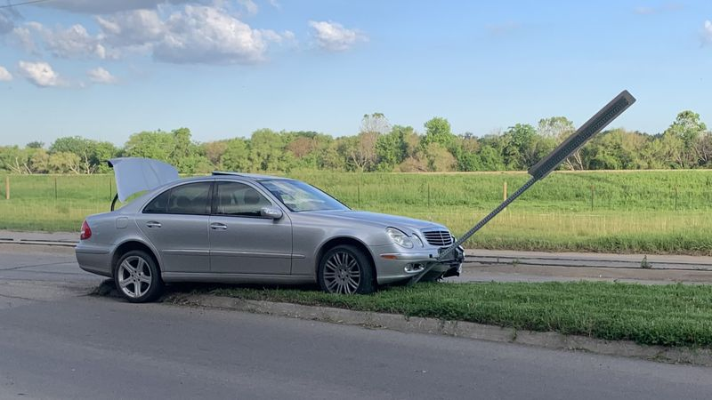 Traffic near N.E. River Road and Emmett Street was shut down for a brief period Friday morning...