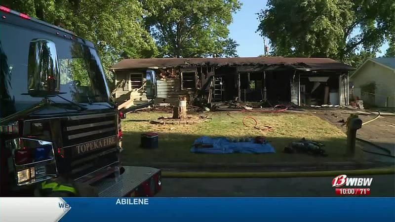 A man was found dead in a fire in the 300 block of NE Spruce Lane.