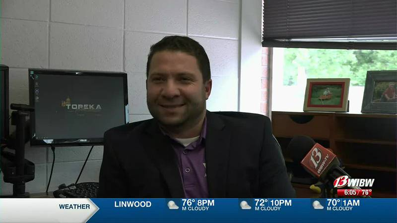 Topeka West's new principal is ready to work through pandemic