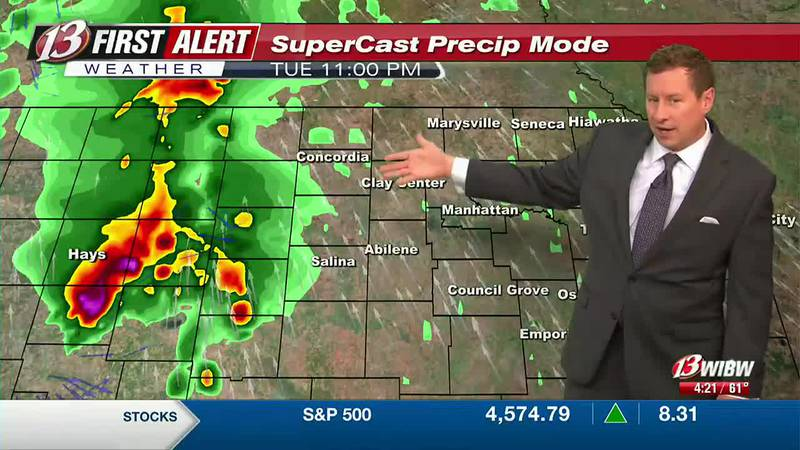 Severe Storm risk late tonight