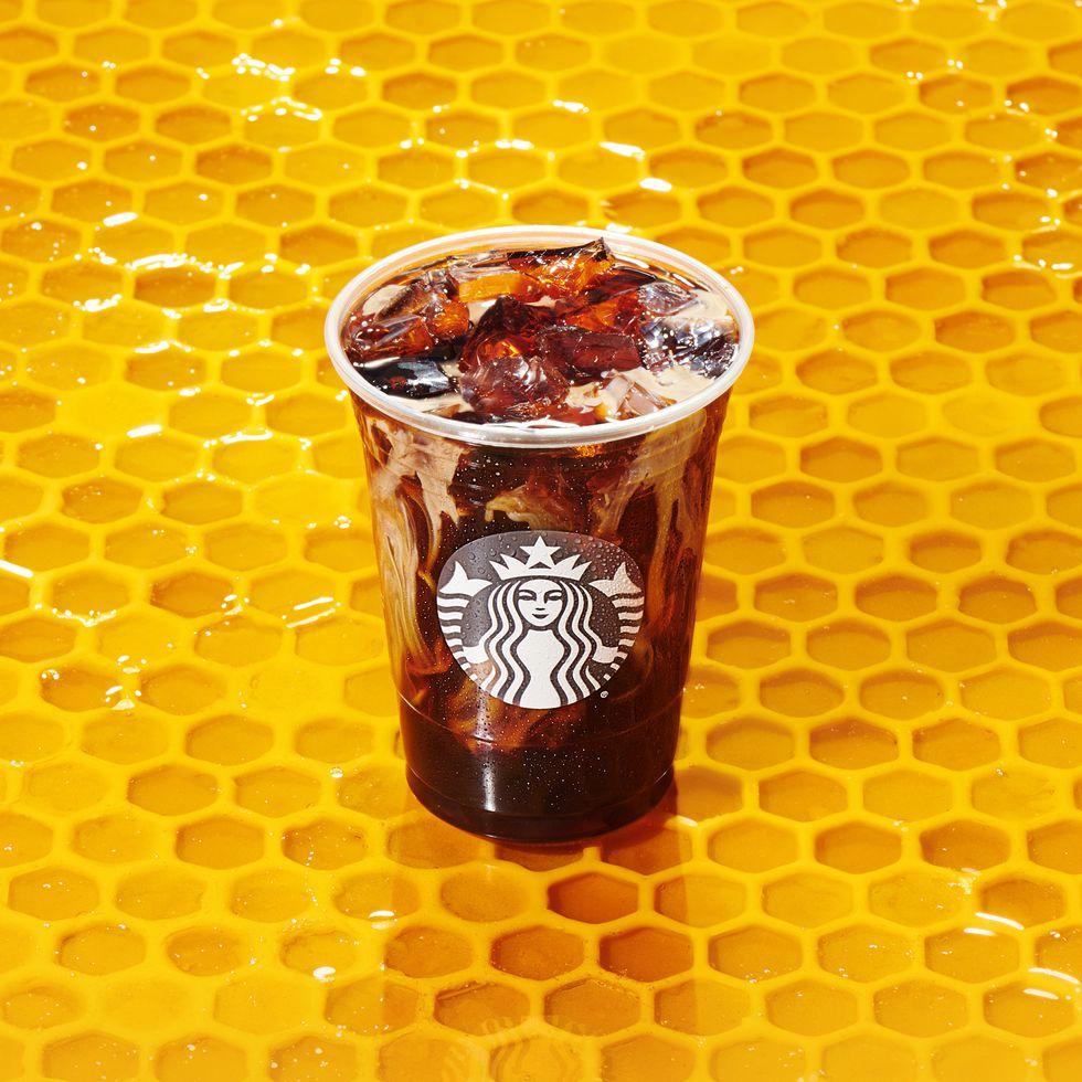 Starbucks announced a new winter menu and it includes a Honey Almondmilk Cold Brew.