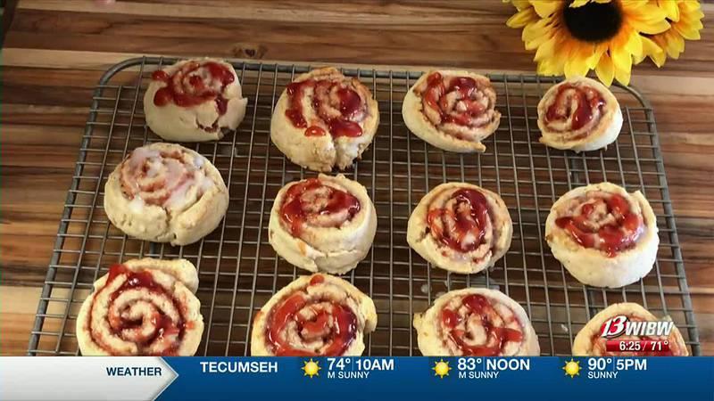 Charlene Patton - Strawberry Swirl Biscuits