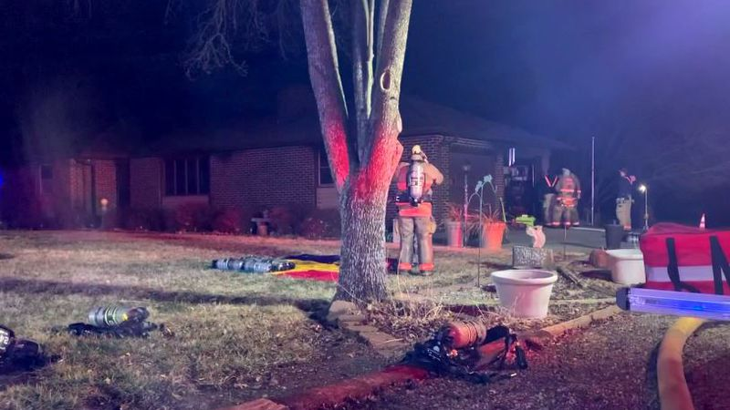 An early-morning fire on Friday caused extensive damage to a house at 4830 S.E. Tecumseh Road.