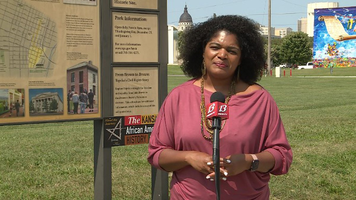 Dr. Tyra Jones speaks to 13 NEWS ahead of the 2021 Kansas Black Expo