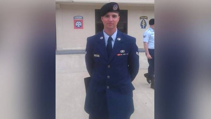 The Kansas Air National Guard identified the airman killed in a Humvee rollover at the Smoky...