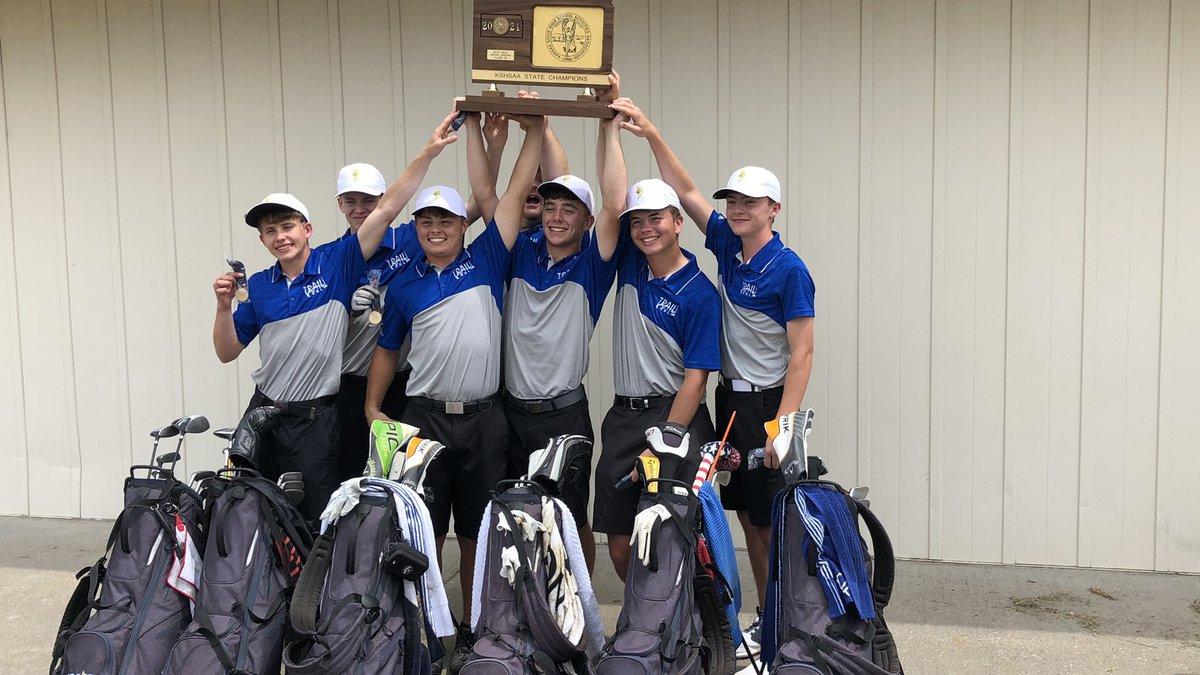 Santa Fe Trail wins 3A boys golf state championship