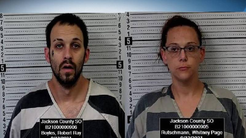 Robert Ray Boyles, 32, of Colorado, and Whitney Page Rutschmann, 38, of Topeka were both...