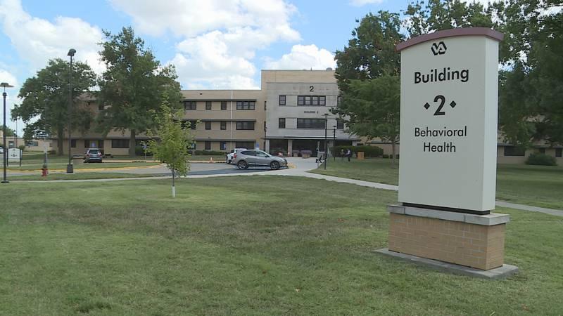 Colmery O'Neil VA Behavioral Health building.