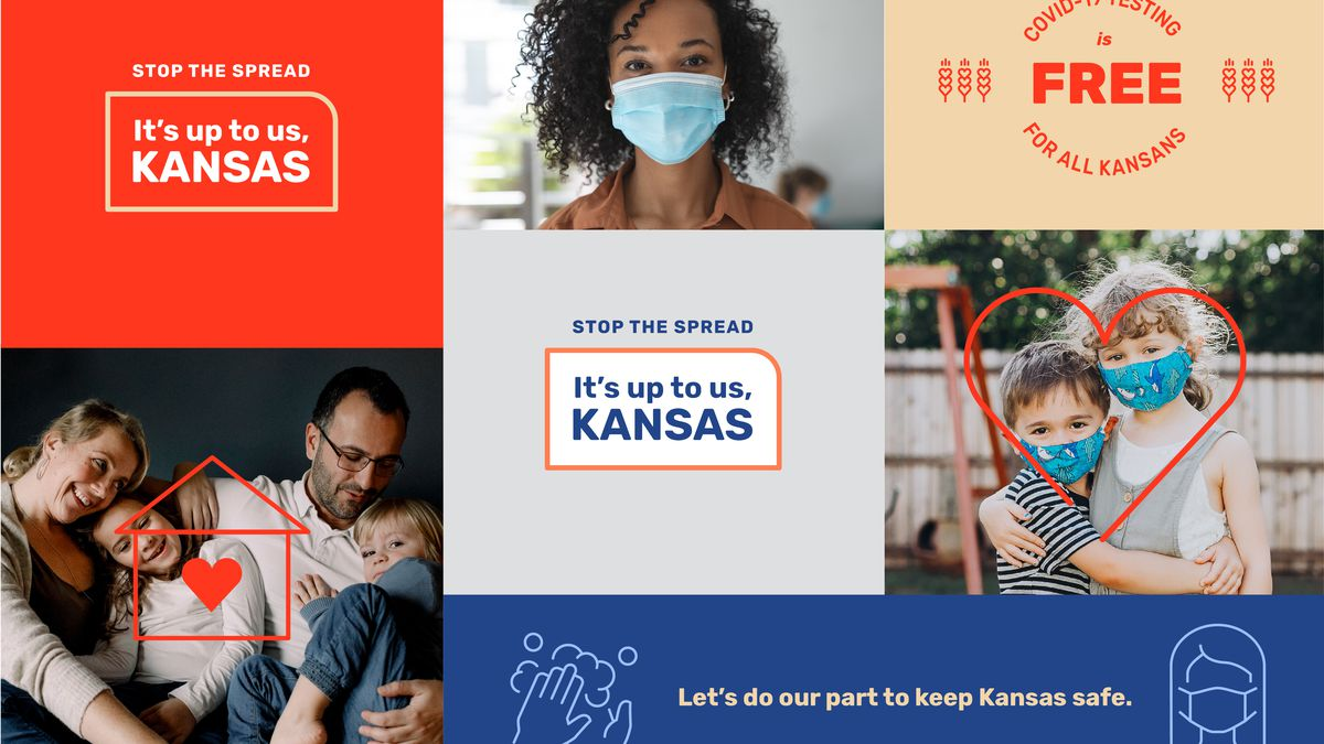 """Governor Laura Kelly has officially launched the """"Stop the Spread. It's Up to Us, Kansas.""""..."""
