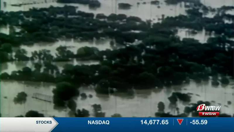 Some estimates show the Topeka area had 11 to 15 inches of rain in the days leading up to that...