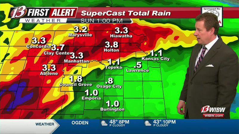 Cooler with rain through the weekend