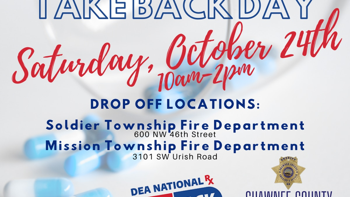 The Shawnee County Sheriff's Office will be offering two drop-off locations for community...