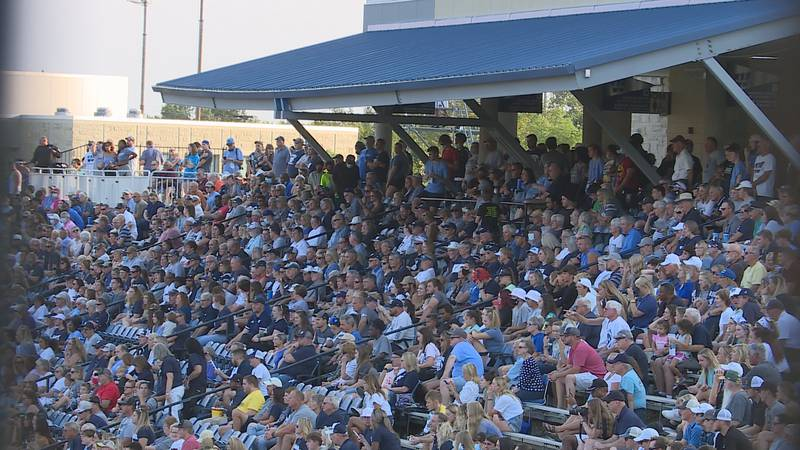 Washburn University fans back in the stands