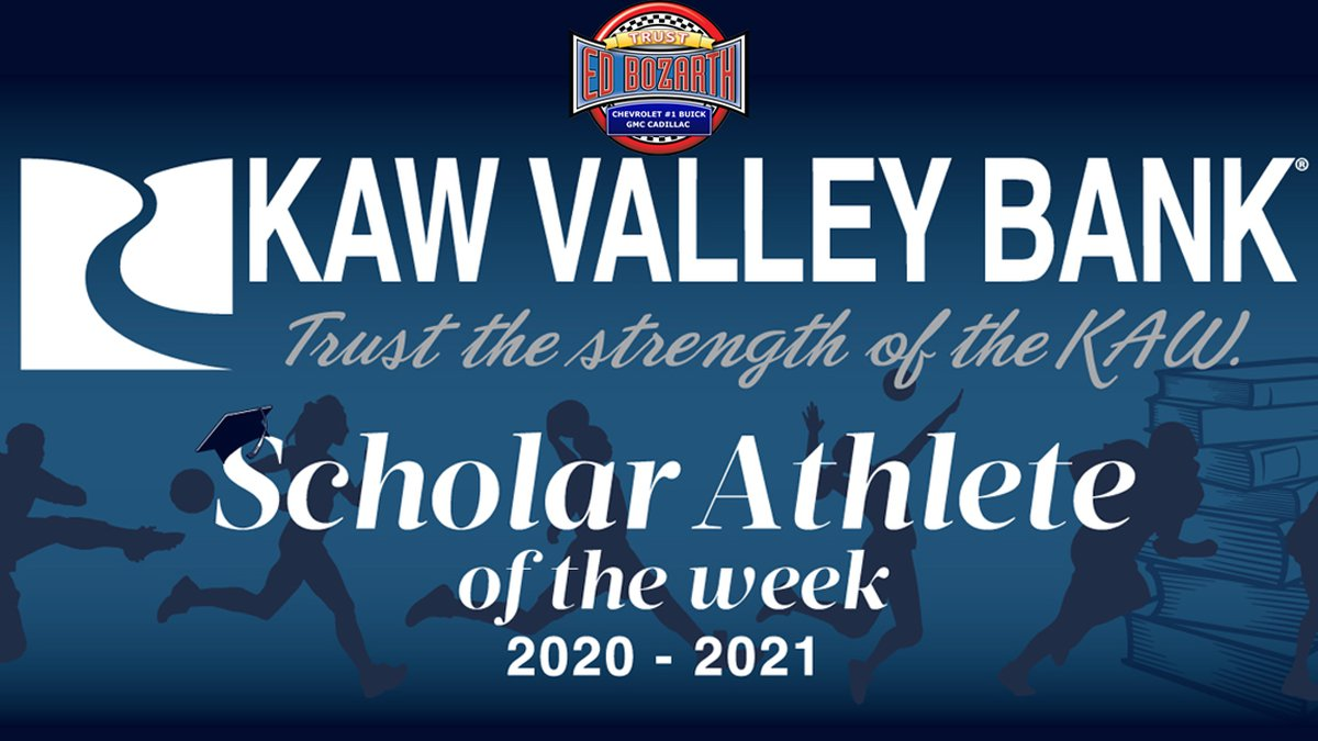 Kaw Valley Bank Scholar Athlete of the Week