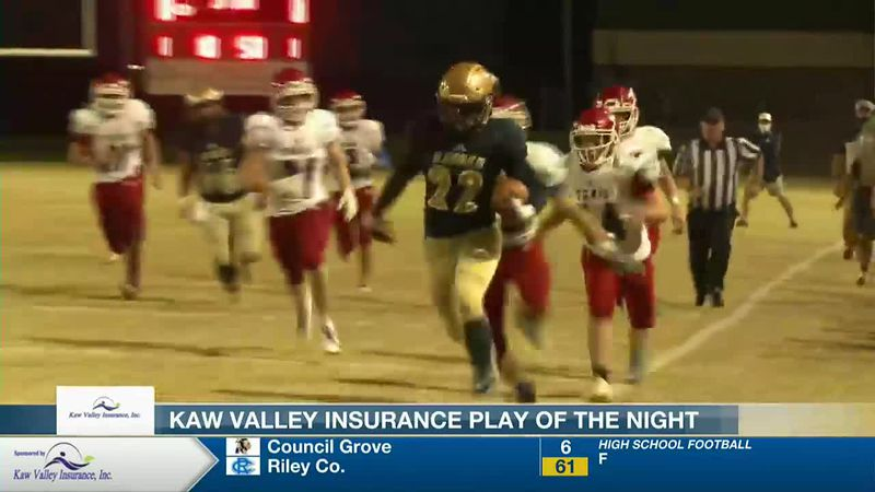 Desmond Purnell scores an incredible touchdown run to take our Week 6 Play of the Week.