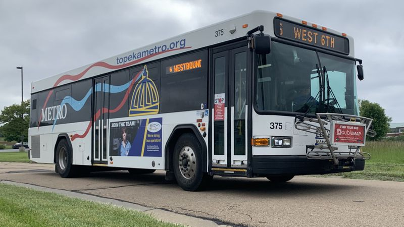 Topeka Metro riders will need to begin paying fares in February.