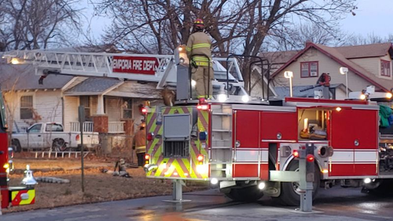 Emporia Fire Crews responded to 1225 Exchange on reports of an apartment house fire early...