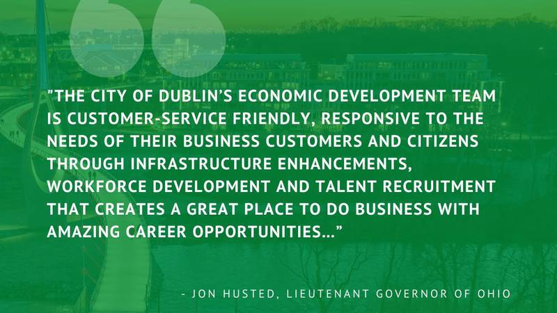 Quote from Jon Husted, Lieutenant Governor of Ohio