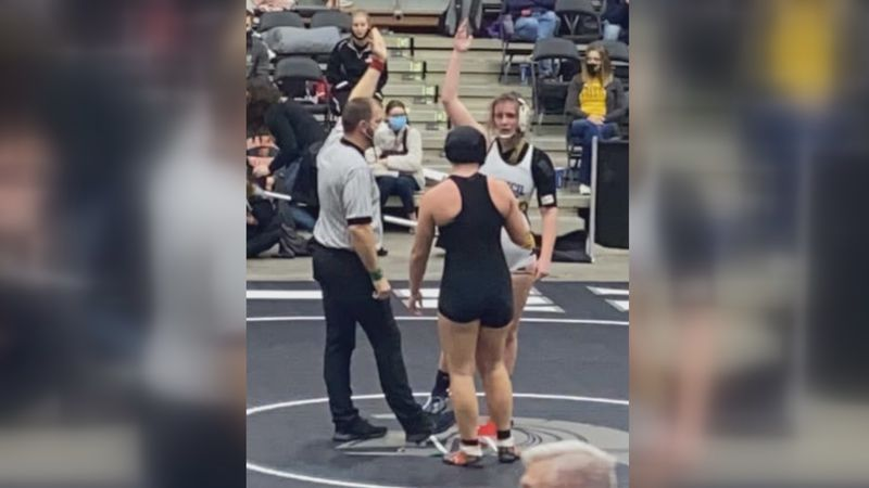 For the second-straight year, Council Grove wrestler Jolie Ziegler raised her hand as Kansas'...