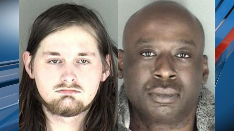 TPD arrested Joshua McGarity and Darrell Levi following a narcotics search warrant on Friday.
