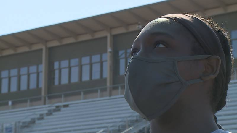 Topeka High's NiJa Canady has turned into a star both in basketball and softball.